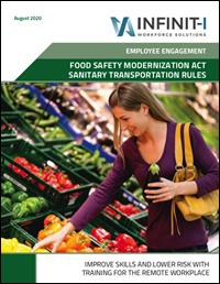Food Safety Modernization Act Sanitary Transportation Rules